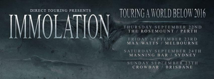 immolation poster