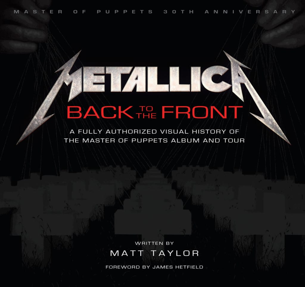 Metallica Book - Back To The Front