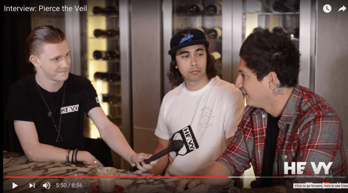 Pierce The Veil - Interview - HEAVY Mag