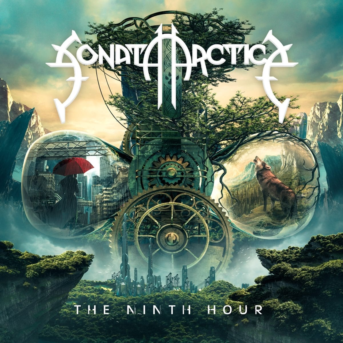 Sonata Arctica - The Ninth Hour - Artwork