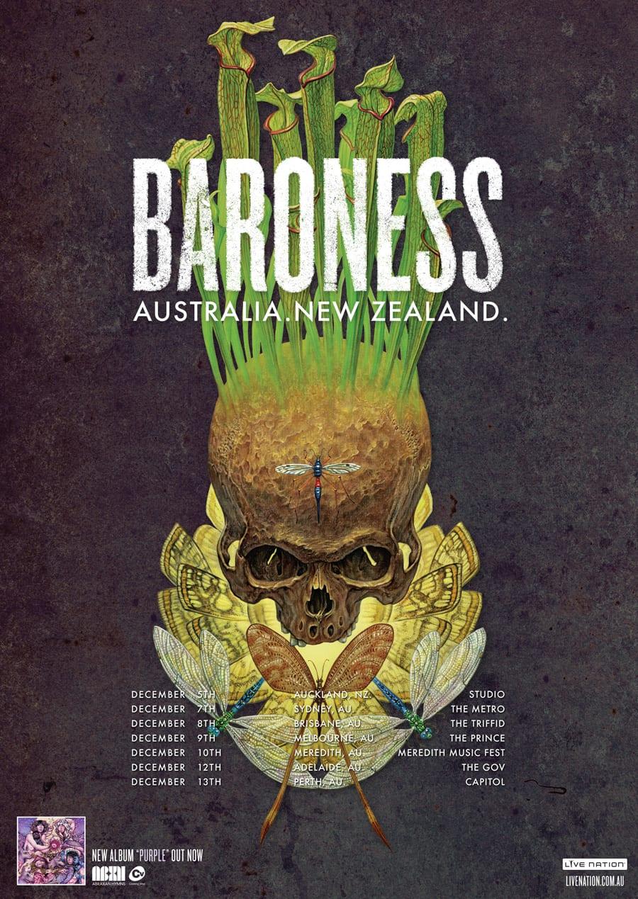 Baroness Australia and New Zealand Tour