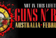 [HAVE YOUR SAY] Which Australian Band Do You Want To Support Guns N' Roses?