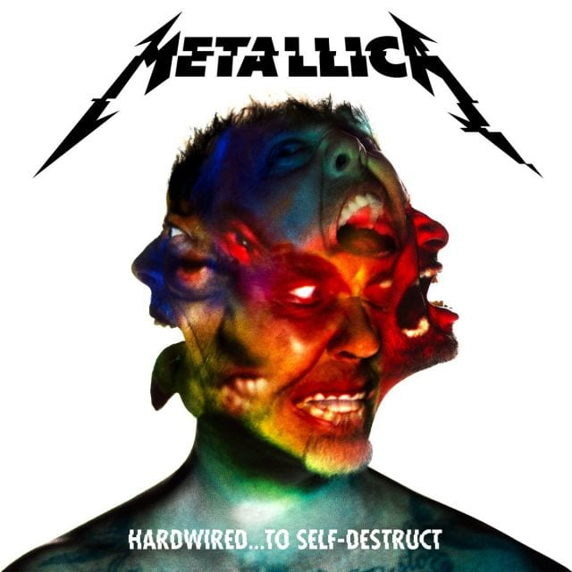 "Metallica ""Hardwired To Self Destruct"" Album Cover"