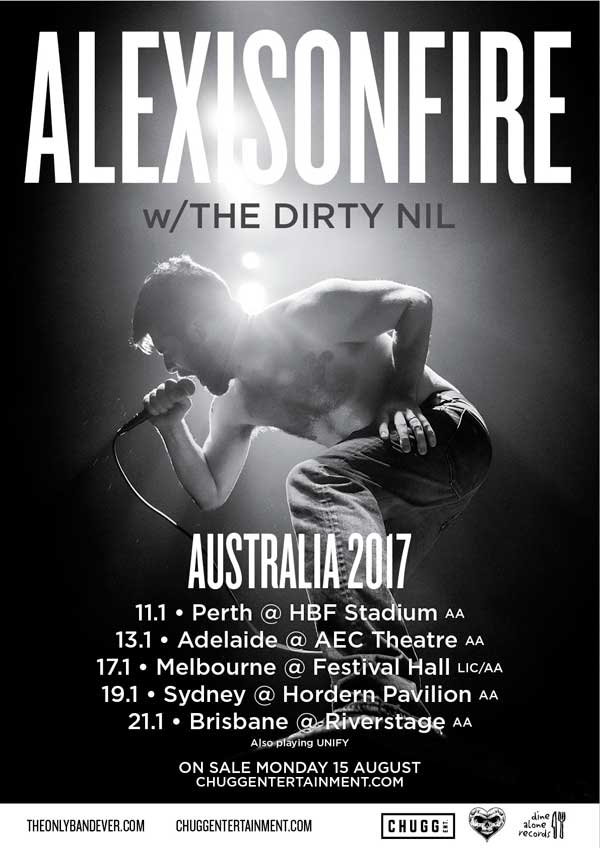 ALEXISONFIRE Tour Dates