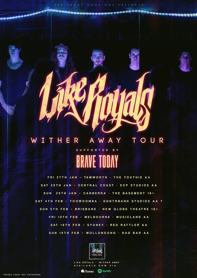 Wither Away Tour