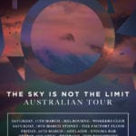 I Built The Sky Australian Tour