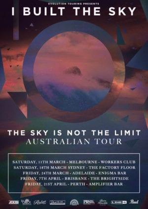 I Built The Sky Australian Tour