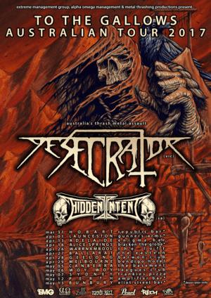 Desecrator Australian Tour