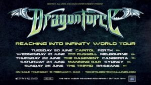 Dragonforce Australian Tour