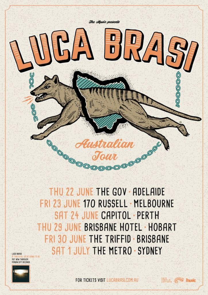 Luca Brasi Australian Tour Dates