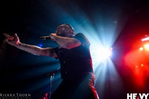 Killswitch Engage at The Enmore Theatre, Sydney, 3rd March 2017   Photo: Kierra Thorn