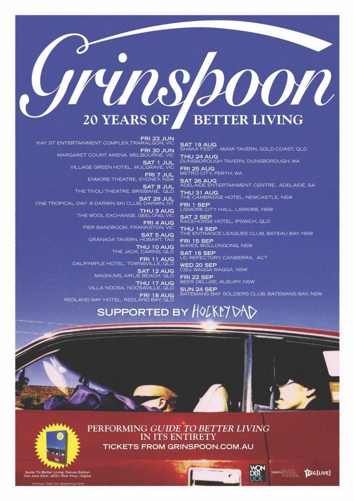 Grinspoon Australian 2017 Tour