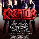 Kreator & Vader Australian Tour