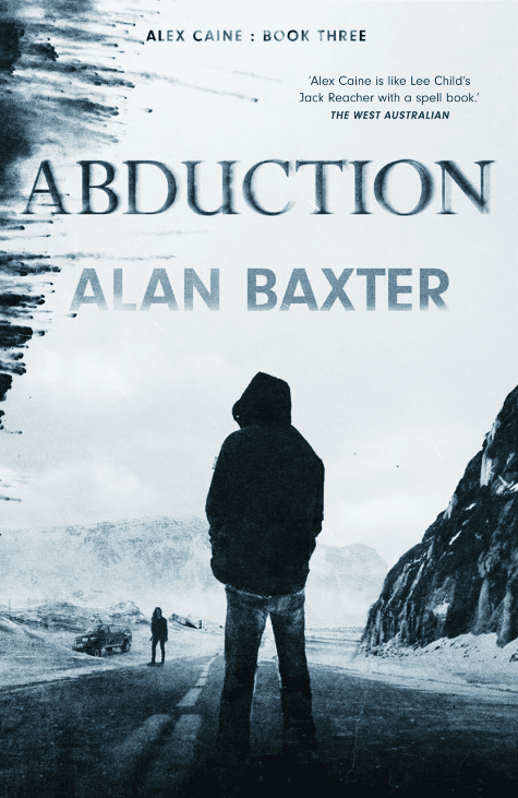 BOOK REVIEW] ABDUCTION By Alan Baxter : Book Three – HEAVY