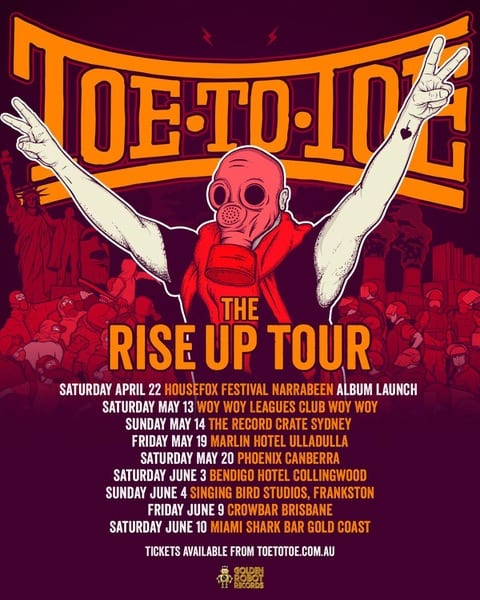 Toe To Toe Australian Tour