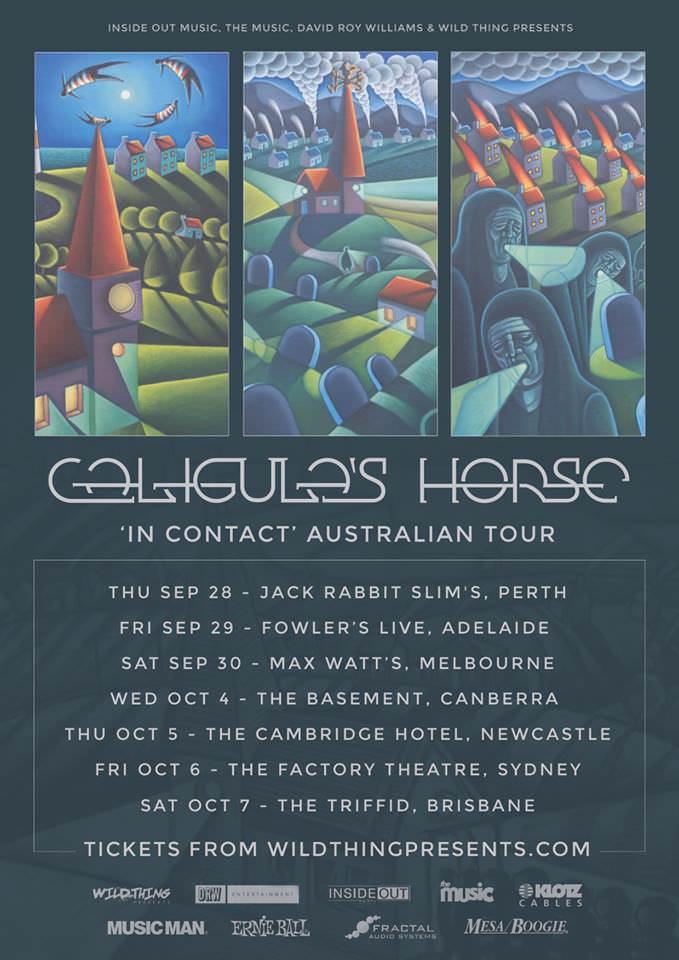 Caligula's Horse Australian Tour