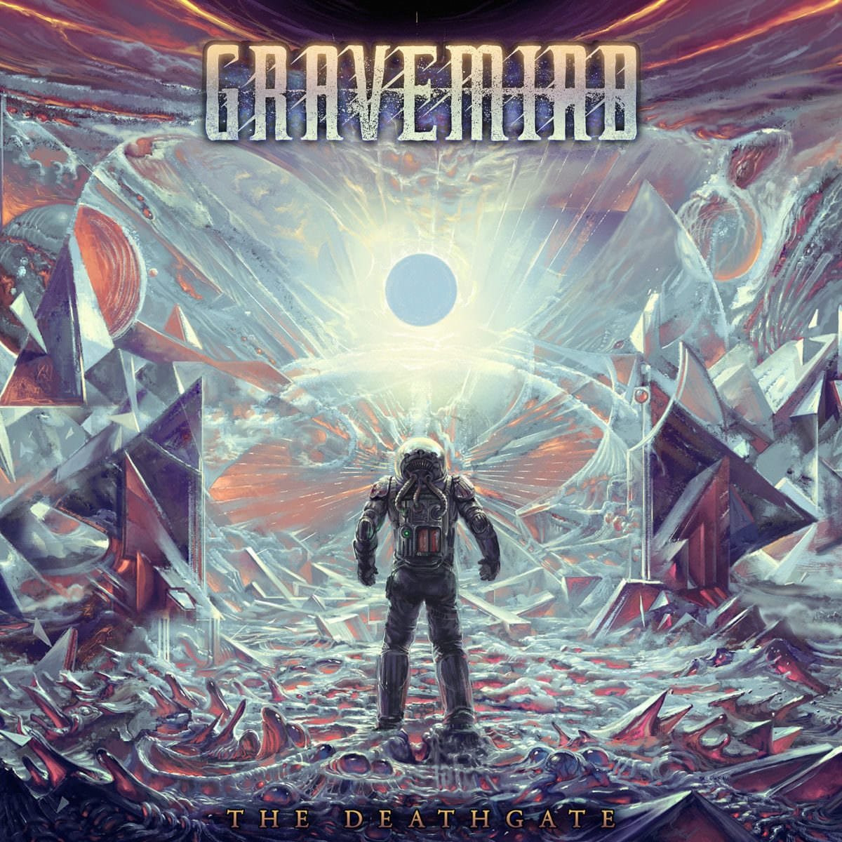 GRAVEMIND - THE DEATHGATE cover