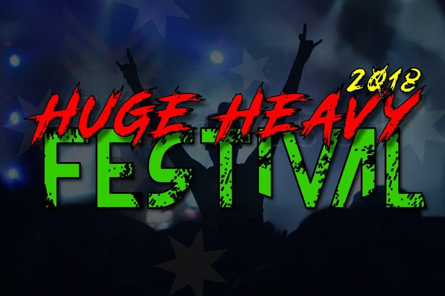 Heavy-Music-Festival-2018-Australia Poster