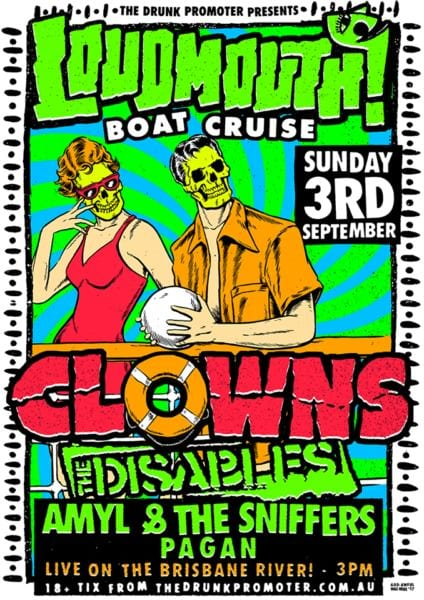 Loudmouth Boat Cruise Poster