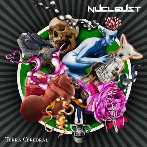 """NUCLEUST """"Terra Cerebral"""" Album Cover"""