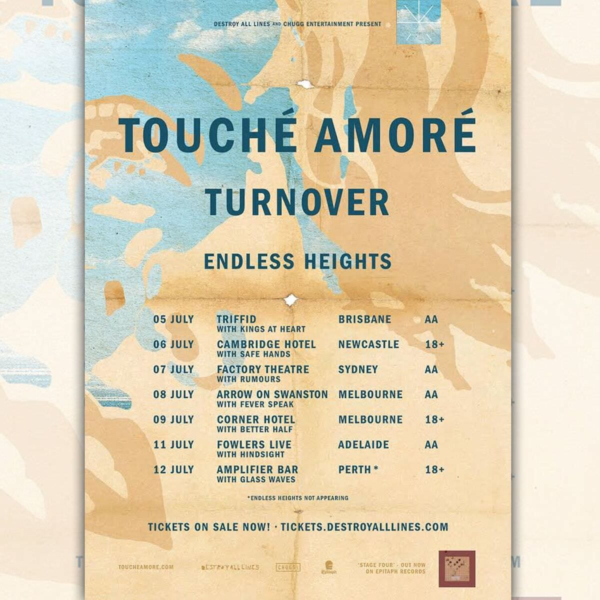 Touche Amore Tour Dates