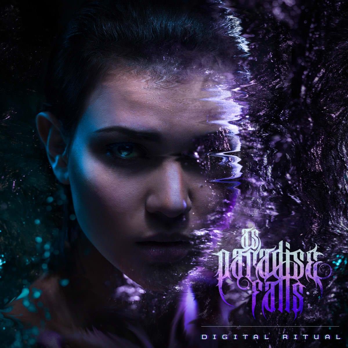 "As Paradise Falls ""Digital Ritual"" Album Cover"