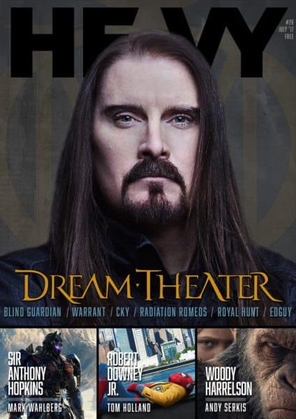 HEAVY Digi-Magazine #26 - Dream Theater