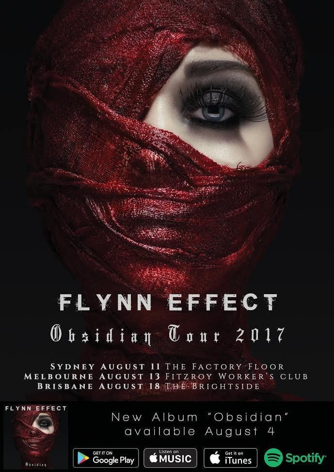 FLYNN EFFECT Tour Dates poster