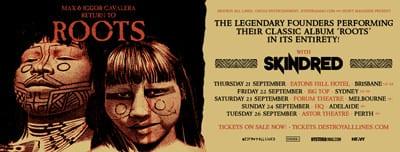 Roots Australian Tour Dates sidebar ad