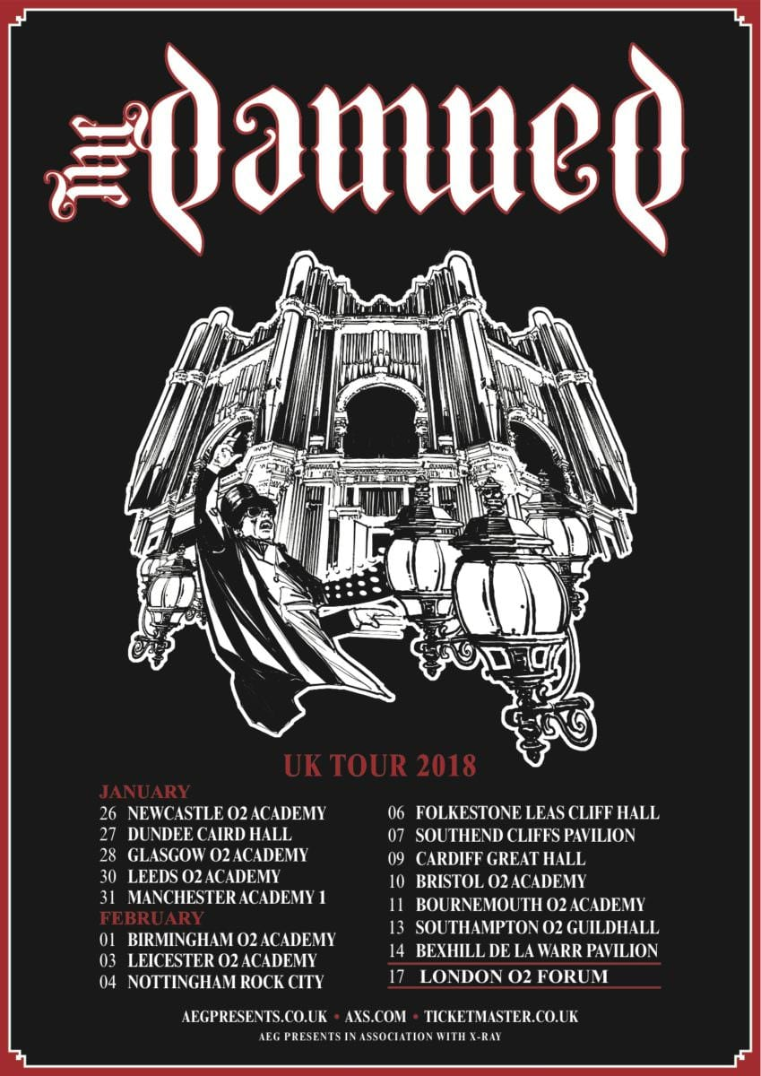 The Damned UK Tour