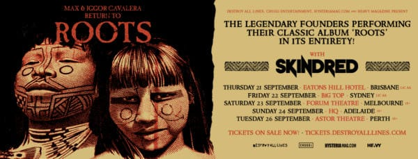 Roots Australian Tour poster