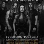 "Once Human ""Evolution"" Australian Tour"