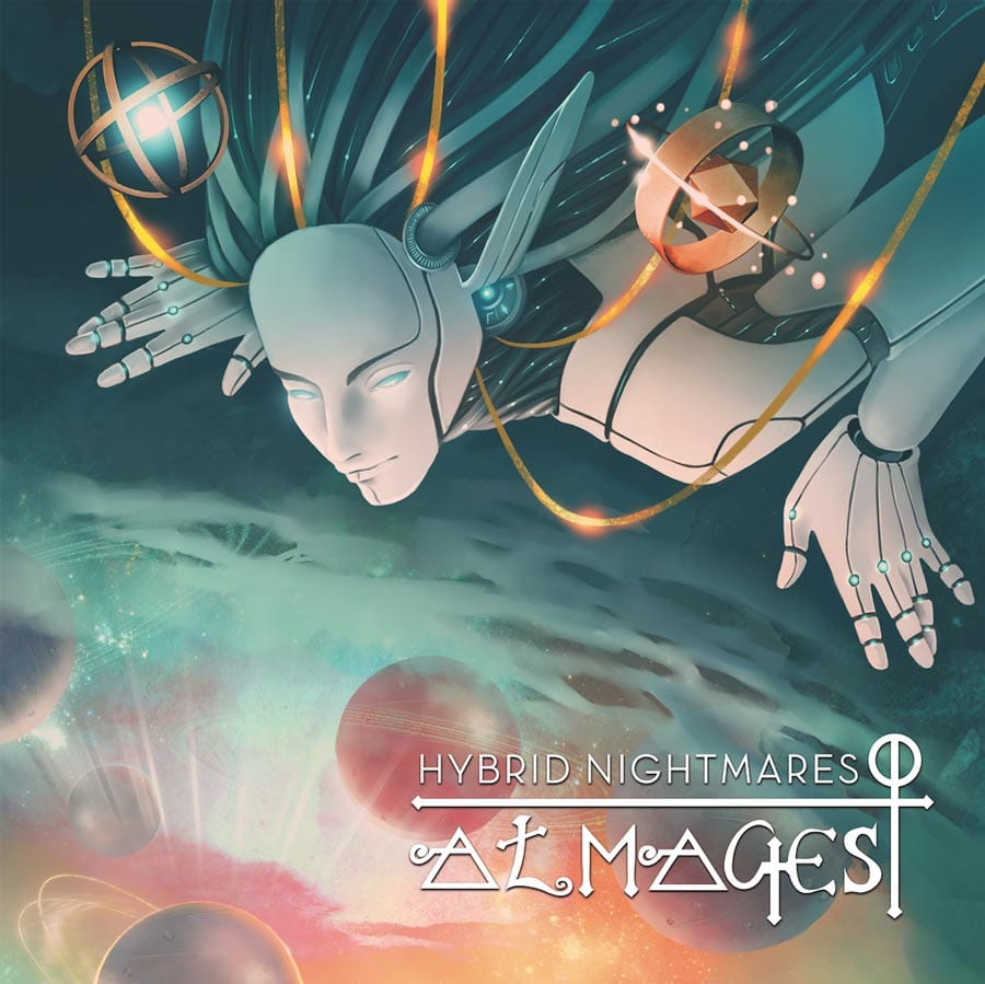 "Hybrid Nightmares ""Almagest"" album cover"