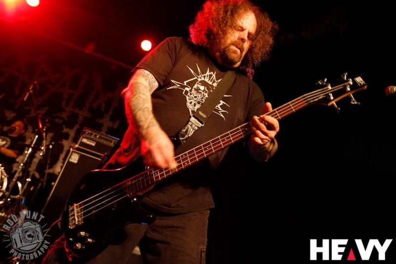 Napalm Death photo by Rod Hunt