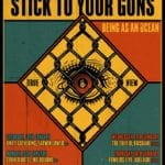 Stick To Your Guns - True View Australian Tour poster