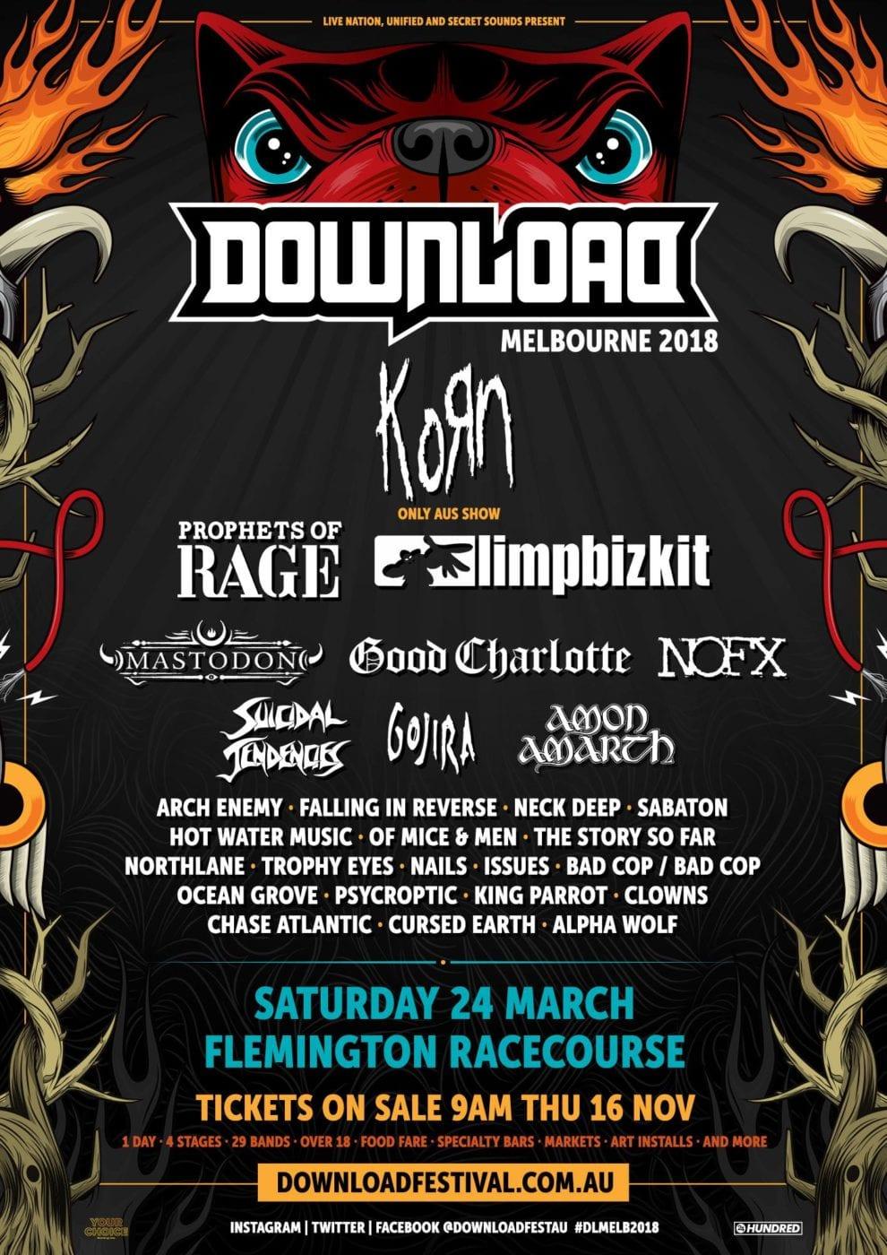2018 download festival