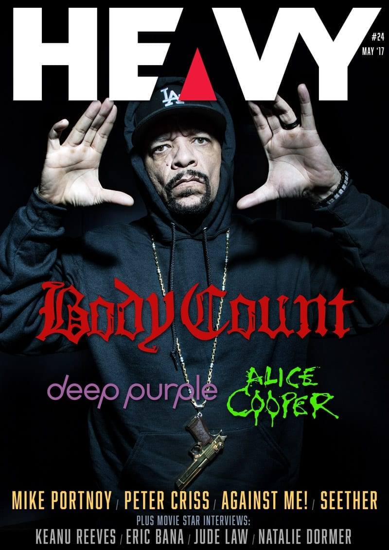 HEAVY Magazine Cover -Digi-Mag 24
