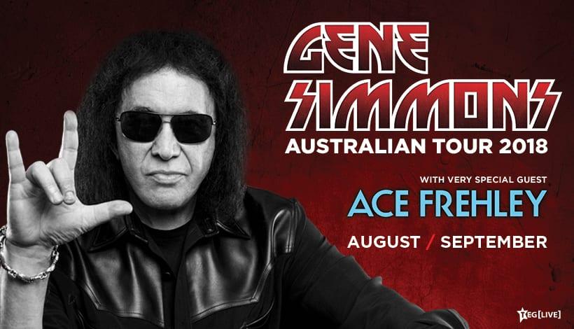 Gene Simmons & Ace Frehley Australian Tour
