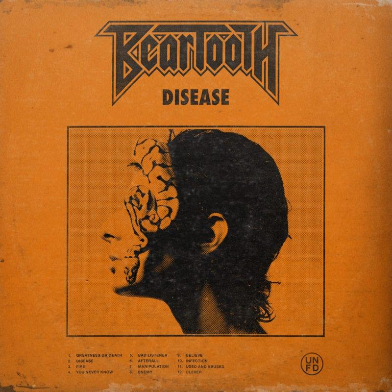 Beartooth-Disease Album Cover 2018