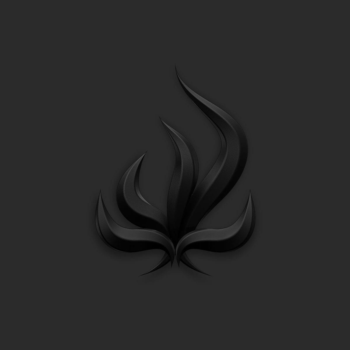 """Burry Tomorrow """"Black Flame"""" Album Cover"""