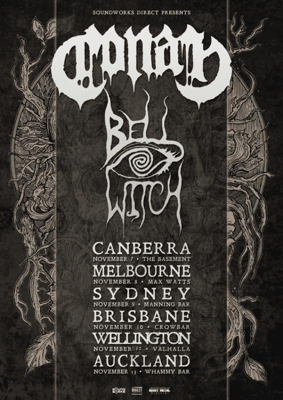 Conan Australian Tour 2018