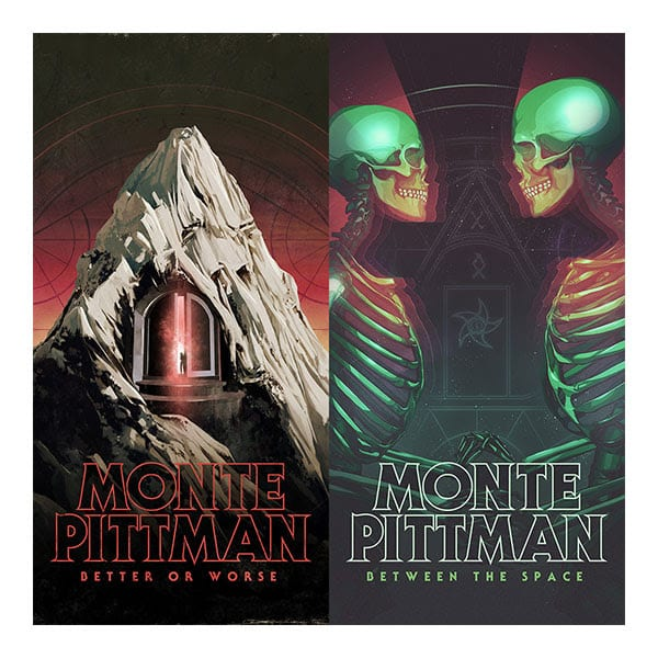 Monte Pittman - Better or Worse and Between The Space Album Cover