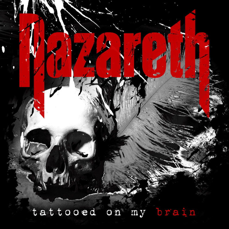 Nazareth-Tattooed-On-My-Brain Album Cover