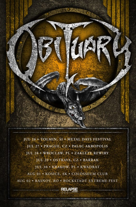 Obituary-Headlining-Dates 2018