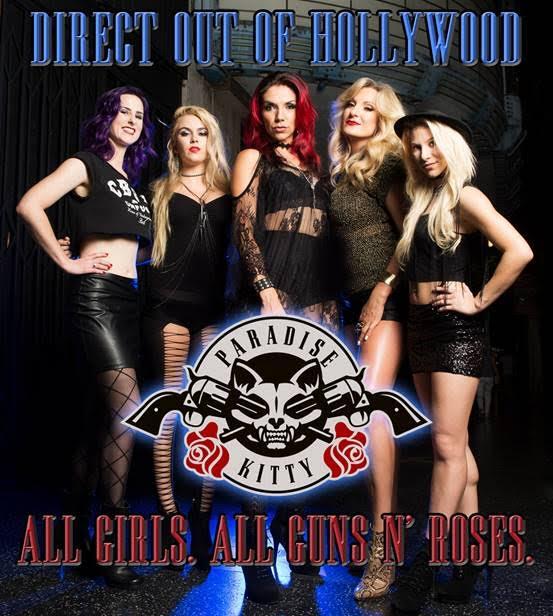 Paradise-Kitty-Guns N Roses Tribute
