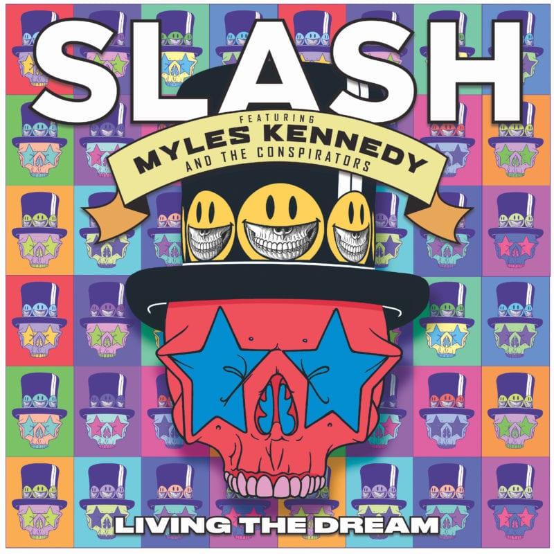 SLASH FT. MYLES KENNEDY & THE CONSPIRATORS, LIVING THE DREAM 2018 Album