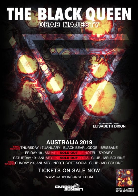 The-Black-Queen-Drab-Majesty-2019-Aus Tour