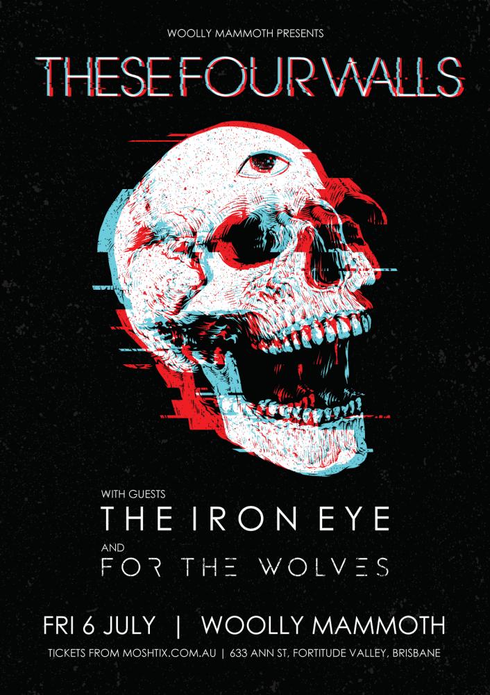 These Four Walls Tour Poster