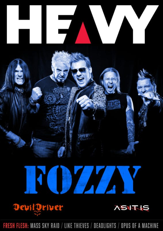 HEAVY MAG Cover with Fozzy