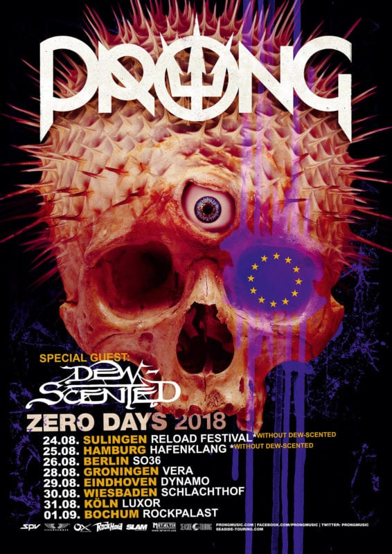 Prong 2018 Tour Dew Scented